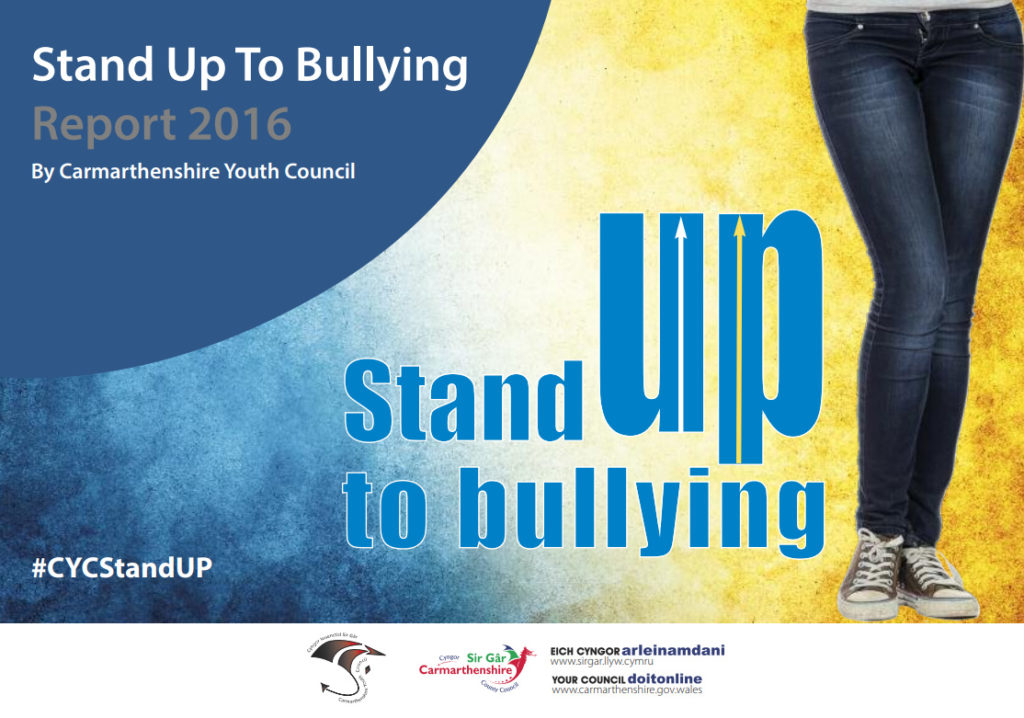 Stand up to Bullying report cover image