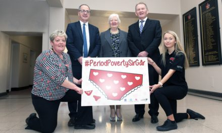 CAMPAIGN LAUNCHED TO TACKLE PERIOD POVERTY
