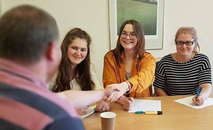 You're Hired! Involving Young People in Staff Interviews