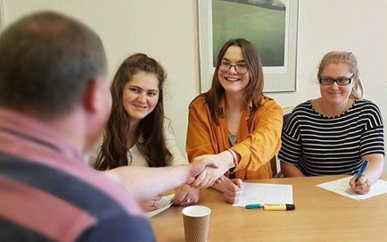 Youre hired! involving young people in staff interviews